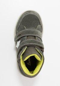Lurchi - DERO-TEX - Kotníkové boty - black olive - 1