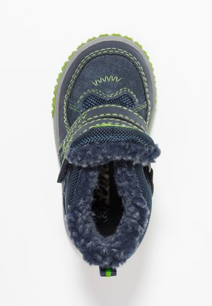 JAUFEN TEX - Snowboot/Winterstiefel - navy/green