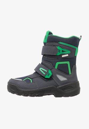 KASPAR SYMPATEX - Zimní obuv - atlantic green