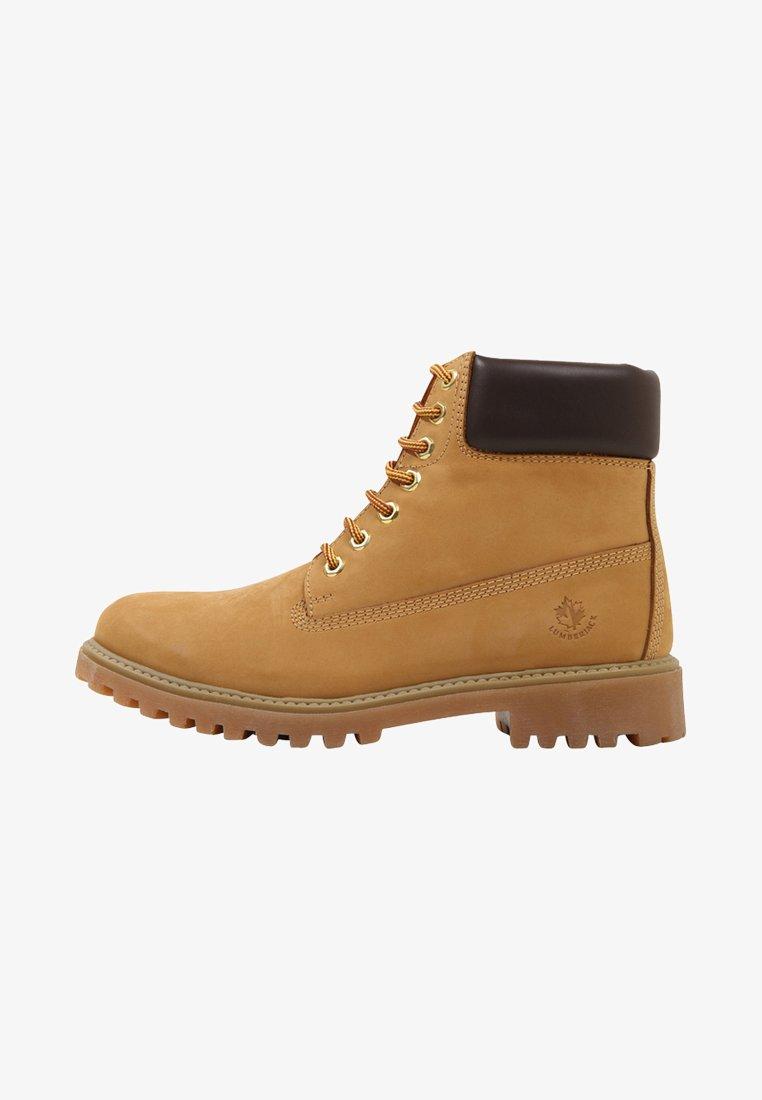 Lumberjack - RIVER - Veterboots - yellow/dark brown