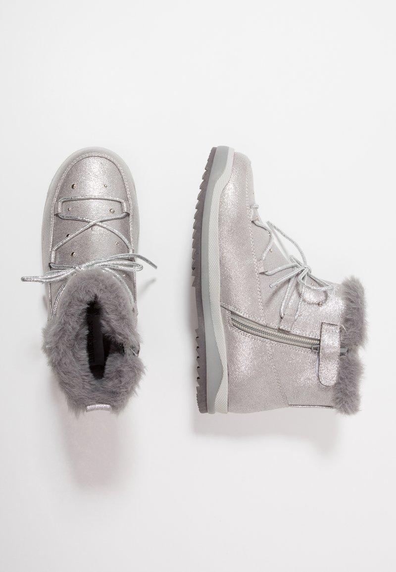 Lumberjack - LAGOON - Classic ankle boots - dark silver