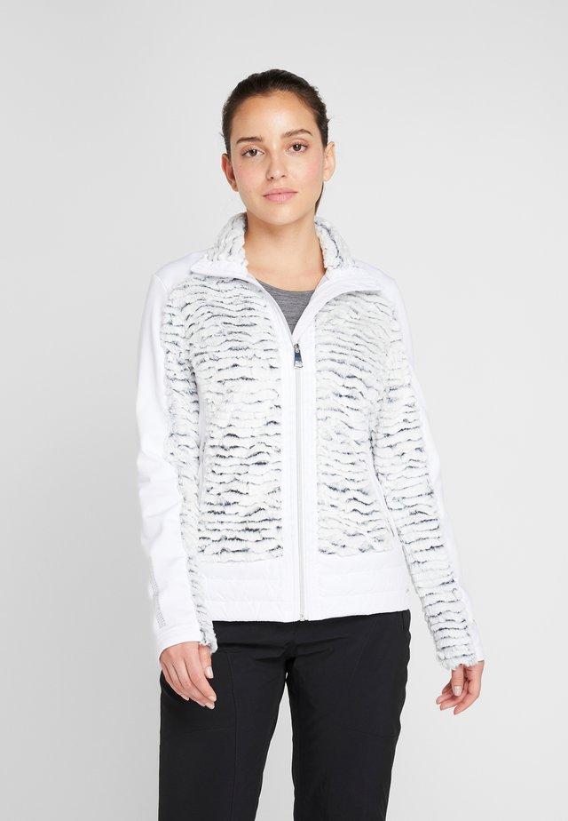 HAAPALINNA - Ski jacket - silver grey