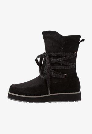 LEONORA - Zimní obuv - black