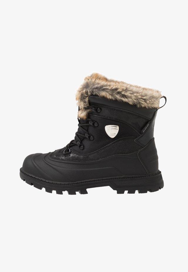 TARKKA - Vinterstøvler - black