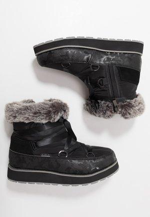 TOMERA  - Snowboot/Winterstiefel - black