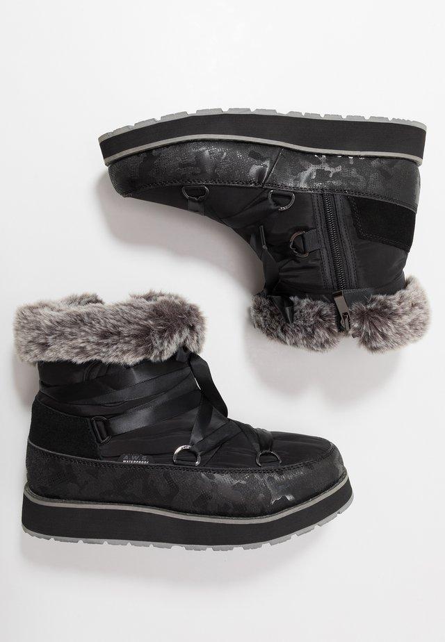 TOMERA  - Vinterstøvler - black