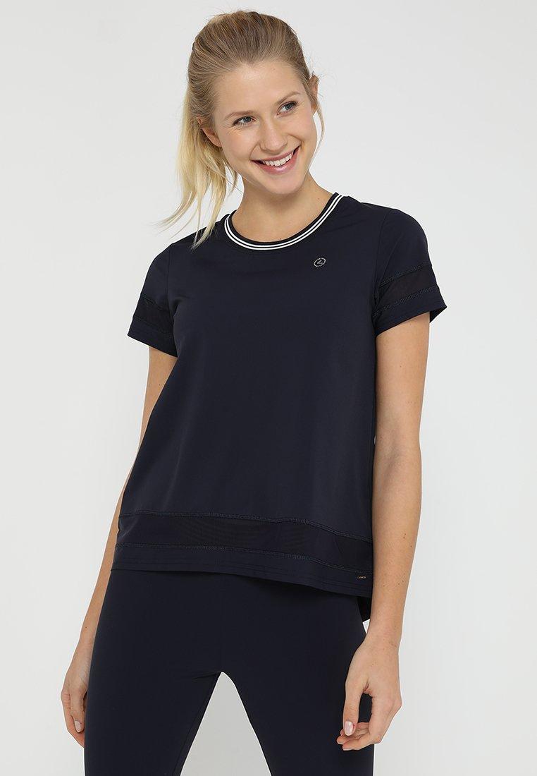 Luhta - ALEKSANDRA - T-Shirt print - dunkelblau