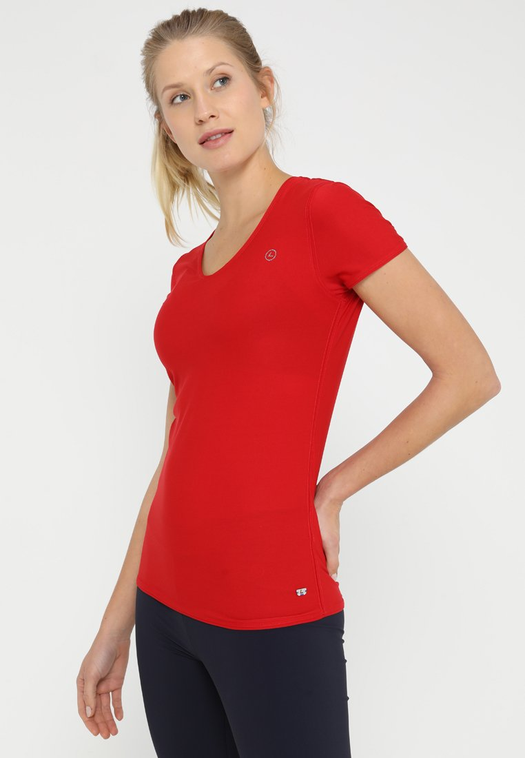 Luhta - ELAVA - T-Shirt print - klassisch rot