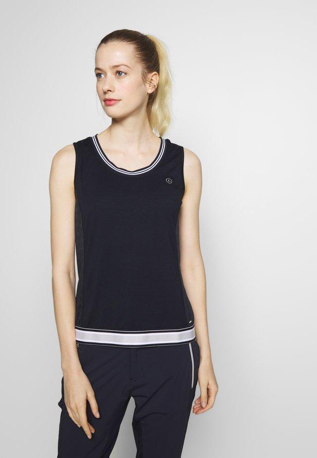 HONKILAHTI - Sports shirt - dark blue
