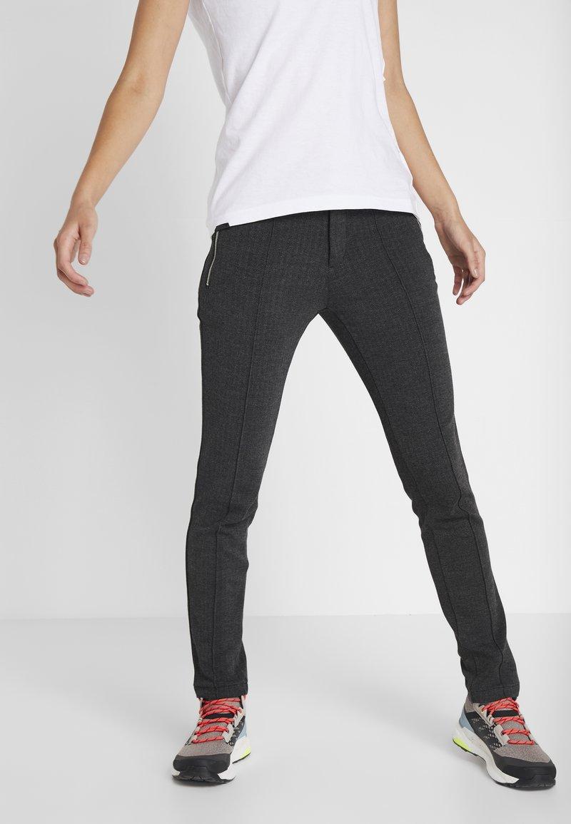 Luhta - JAUHIALA - Spodnie treningowe - lead grey
