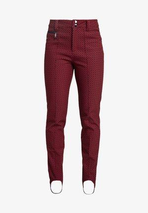 JUNES - Pantalon de ski - classic red