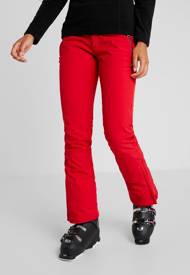 JOENTAUS - Snow pants - classic red