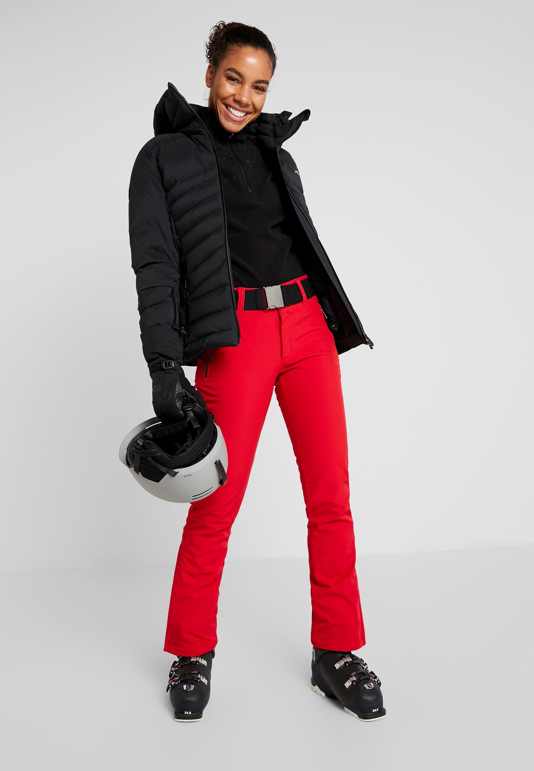 Luhta JOENTAUS - Ski- & snowboardbukser - classic red