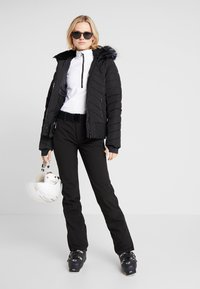 Luhta - JOENTAUS - Pantalon de ski - black - 1