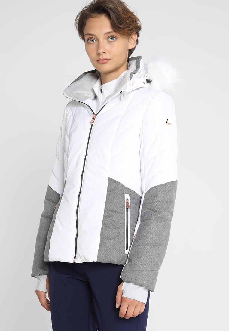 Luhta - BENGTA - Chaqueta de esquí - optic white