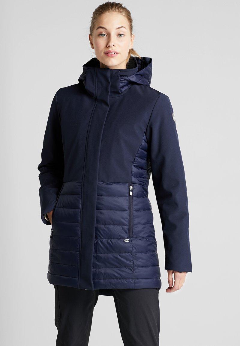 Luhta - IVALO - Regnjakke / vandafvisende jakker - dark blue
