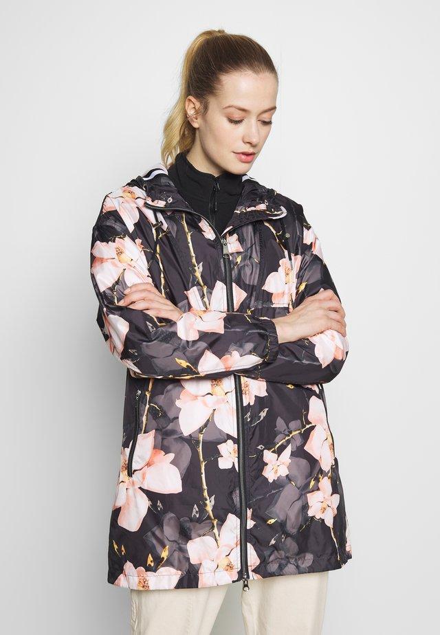 HUHMARI - Hardshell jacket - black