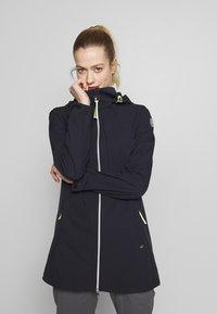 Luhta - ANIKSAR - Soft shell jacket - dark blue - 0