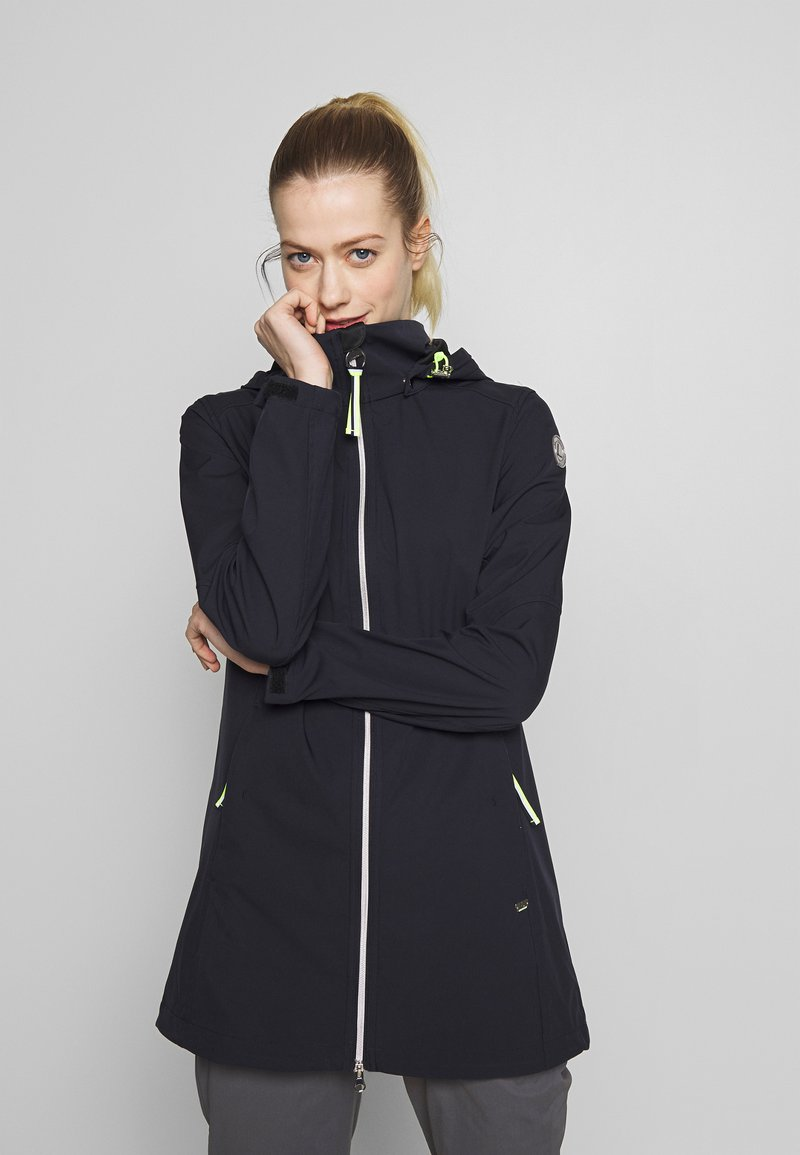 Luhta - ANIKSAR - Soft shell jacket - dark blue