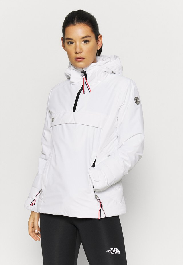 LUHTA EDSVIK - Chaqueta outdoor - optic white