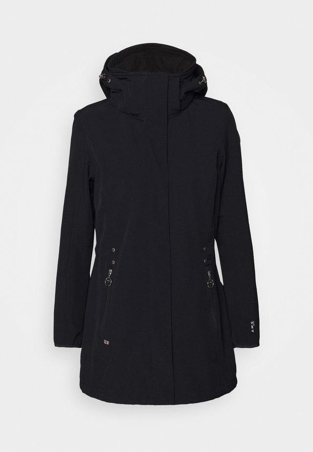 ENGELNIEMI - Soft shell jacket - dark blue