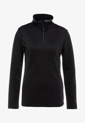 HALSSILA - T-shirt à manches longues - black