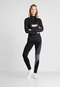 Luhta - HALIKKO - Sports shirt - black - 1