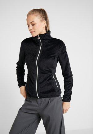IISSALO - Fleece jacket - black