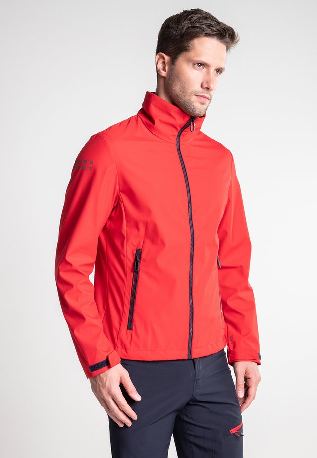 AERLA - Soft shell jacket - classic red