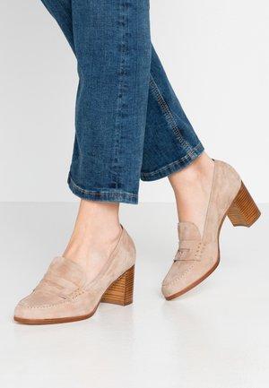 Classic heels - bisquit