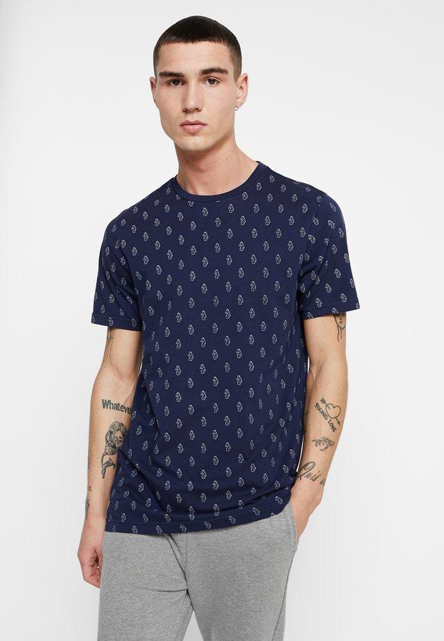 TRIUMPHANT - T-shirt z nadrukiem - navy