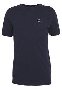 Luke 1977 - JOHNNYS 3 PACK - Basic T-shirt - black/white/navy - 10