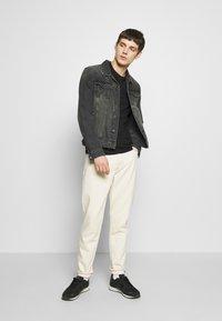 Luke 1977 - JOHNNYS 3 PACK - Basic T-shirt - black/white/navy - 1