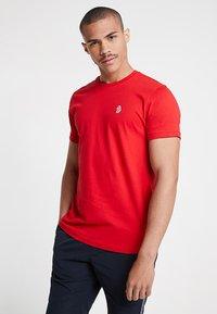 Luke 1977 - JOHNNYS 3 PACK - T-shirt - bas - navy/white/red - 1