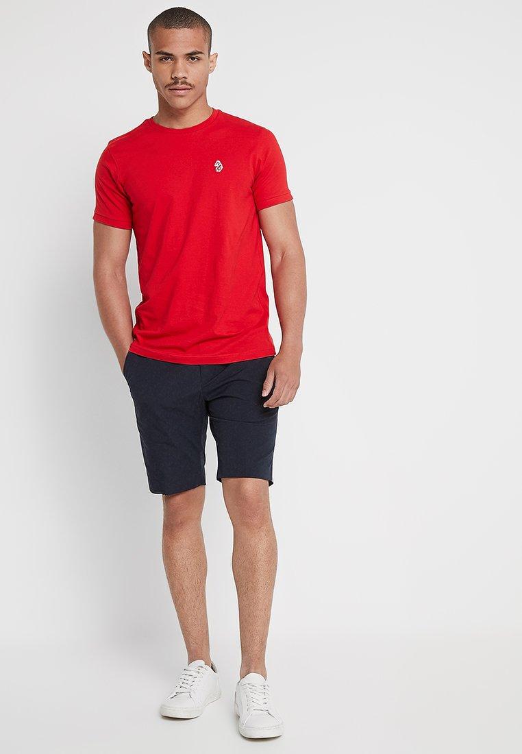 Luke 1977 - JOHNNYS 3 PACK - T-shirt - bas - navy/white/red
