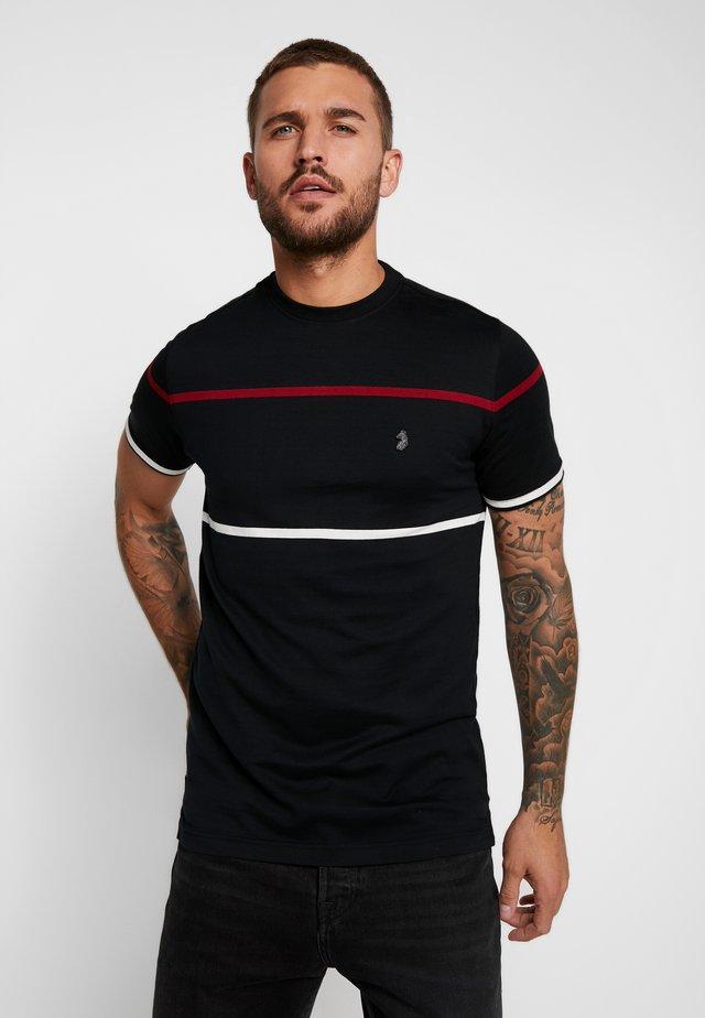 ACOURT - T-shirt med print - jet black