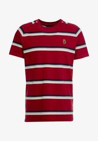 Luke 1977 - REY - T-shirt med print - rosewood mix - 4