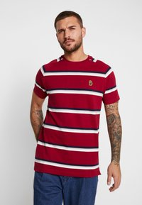 Luke 1977 - REY - T-shirt med print - rosewood mix - 0