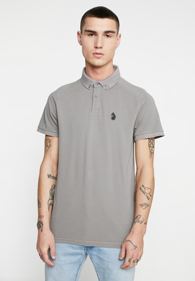 REEFER - Polo shirt - concrete