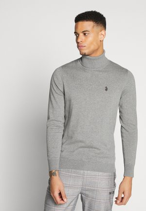 POLESIUM - Jumper - mottled dark grey