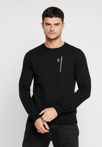 Luke 1977 - PARIS - Sweatshirt - black - 2