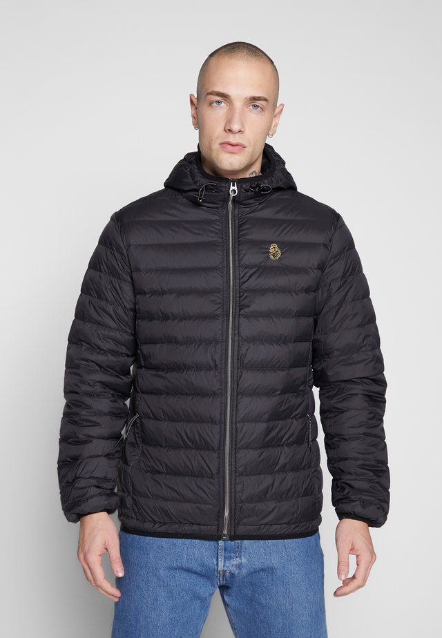 SOUTH - Down jacket - black