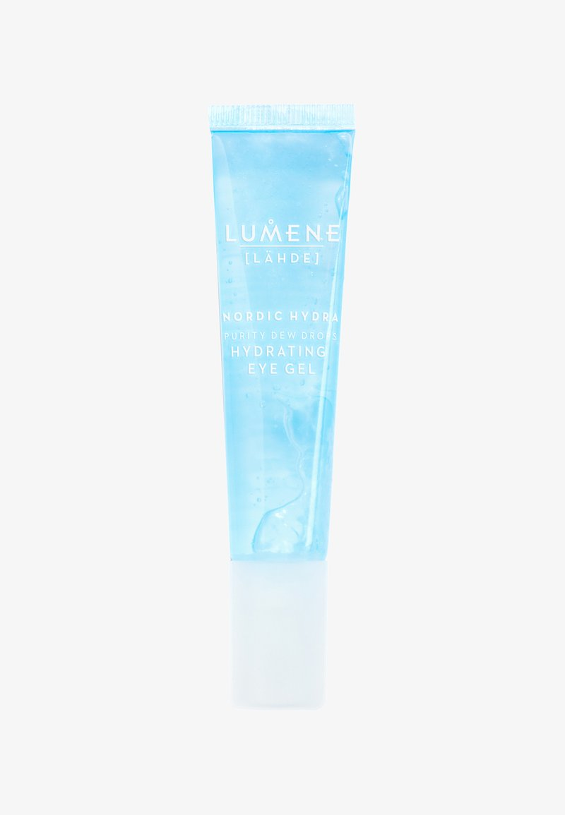 Lumene - NORDIC HYDRA [LÄHDE] PURITY DEW DROPS HYDRATING EYE GEL 15M - Eyecare - -