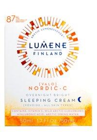 Lumene - NORDIC C [VALO] OVERNIGHT BRIGHT SLEEPING CREAM - Nachtpflege - - - 1