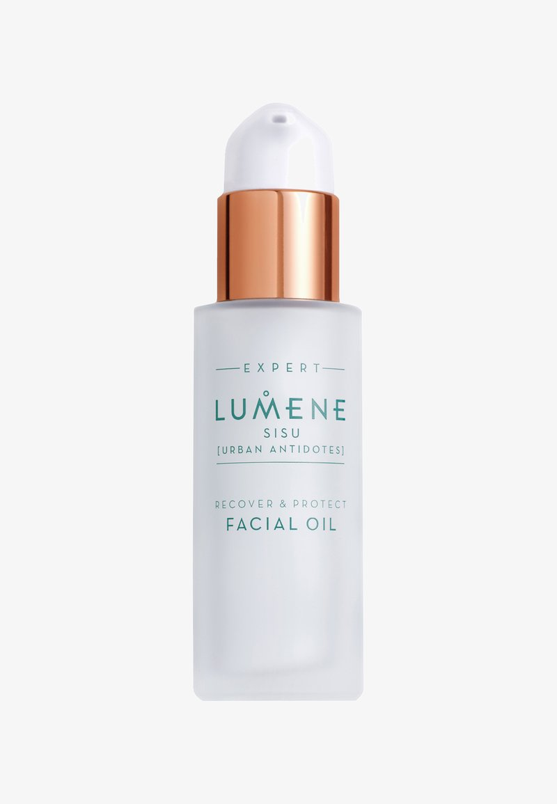 Lumene - NORDIC DETOX [SISU]RECOVER & PROTECT FACIAL OIL 30ML - Face oil - -