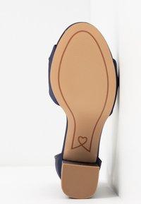 Lulipa London - DEB - Sandaler med høye hæler - navy - 6
