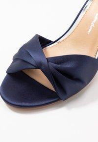 Lulipa London - DEB - Sandaler med høye hæler - navy - 2
