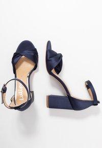 Lulipa London - DEB - Sandaler med høye hæler - navy - 3