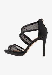 Lulipa London - DESTINY - Sandály na vysokém podpatku - black - 1