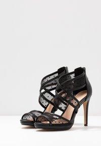 Lulipa London - DESTINY - Sandály na vysokém podpatku - black - 4